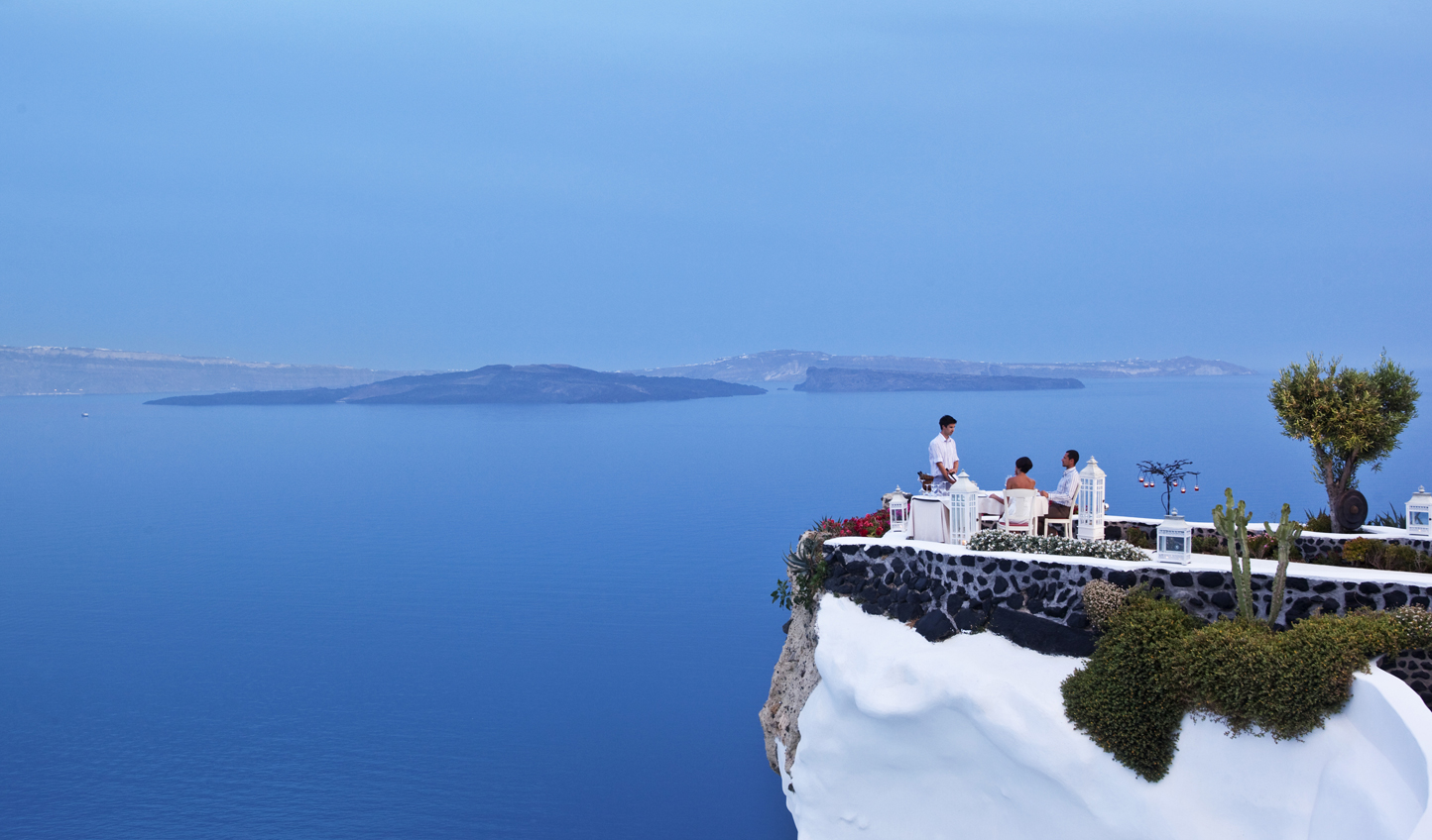 Dine on a cliff edge at Lycabettus