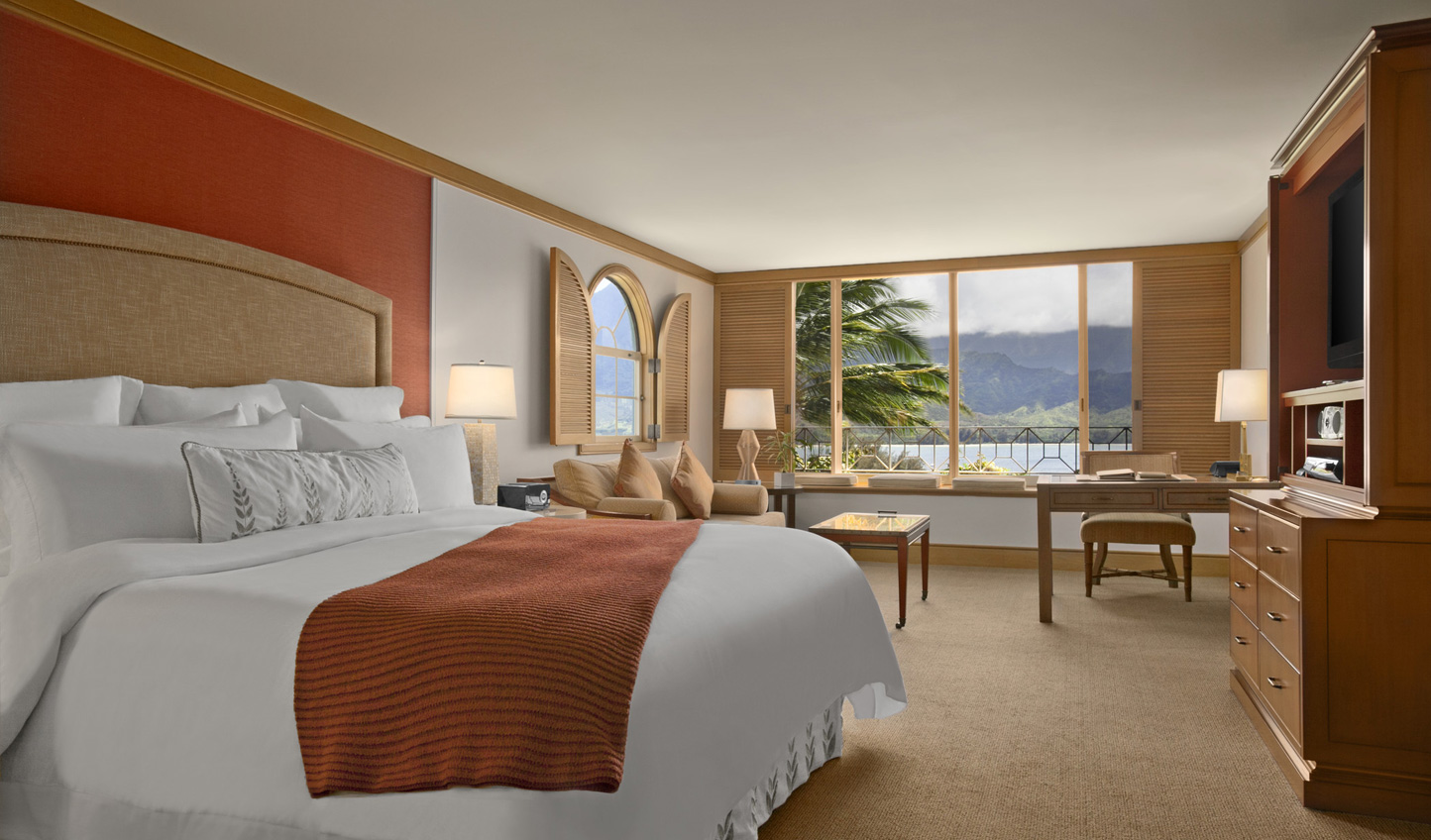 Luxurious rooms with a touch of island chic
