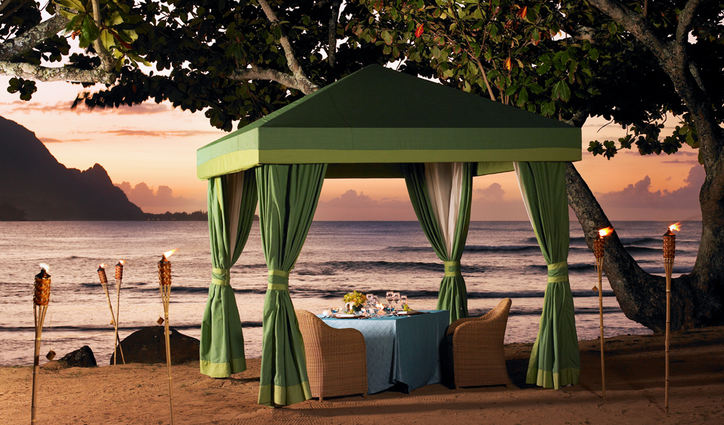 The perfect spot for a romantic dinner for two