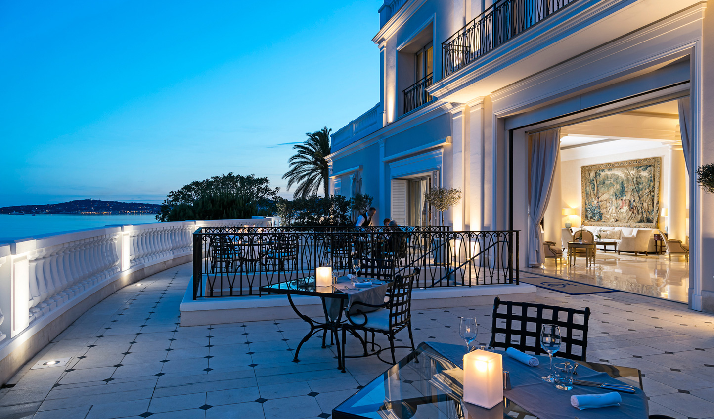 Enjoy warm summer evenings out on your private terrace