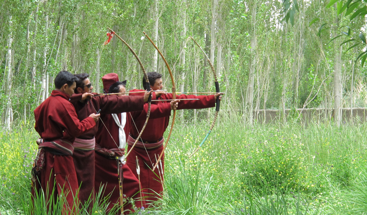 Hone your archery skills in the woodland