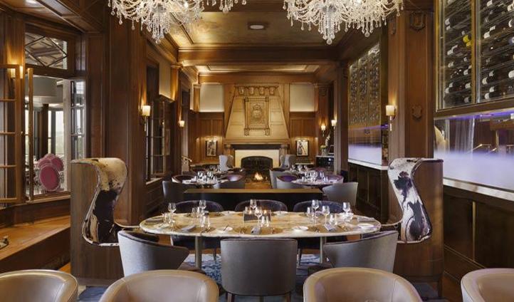Landmark dining at Champlain