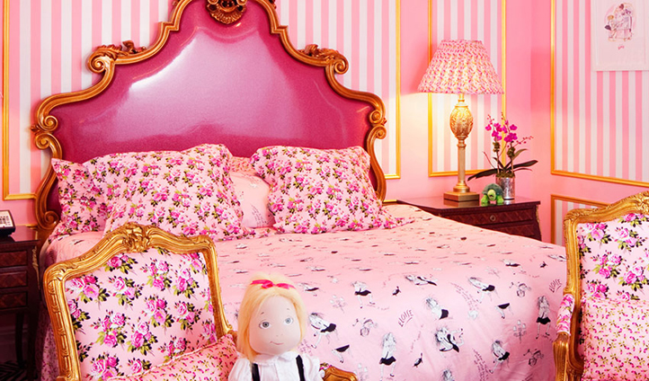 The famous Eloise room is perfect for your little angel's first trip to New York