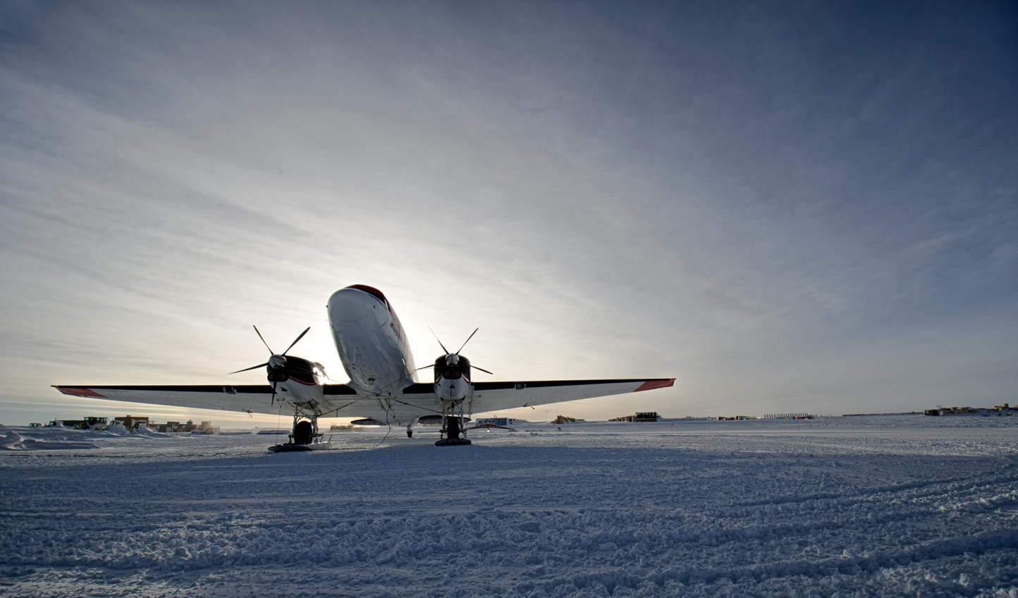Fly straight to the heart of the Antarctic action