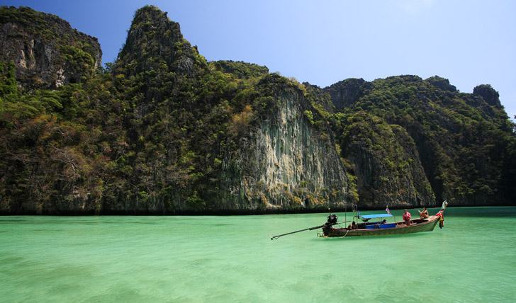 Hop around the islands in your own long-tail boat