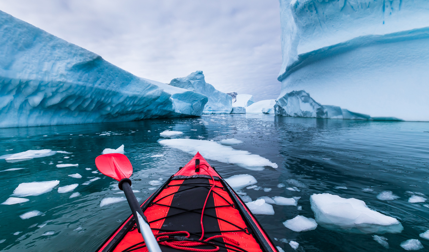 Opportunities to kayak along the calm waters