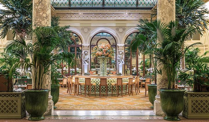 The famous Palm Court