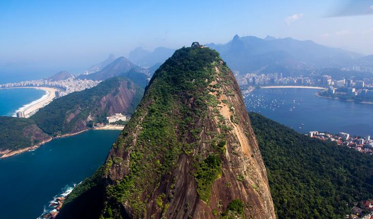 Sky line of Rio