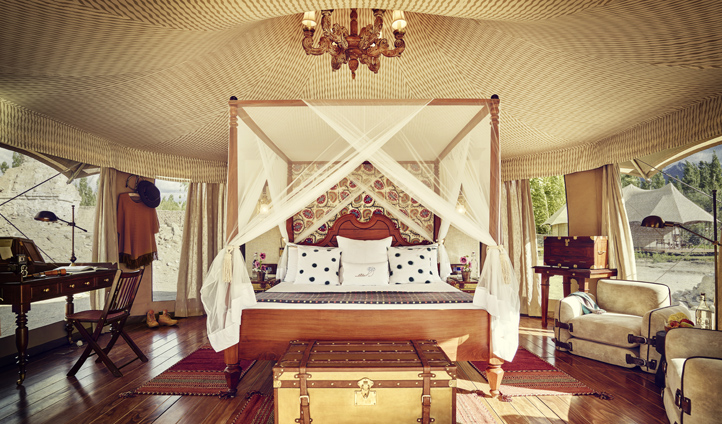 A tent fit for royalty