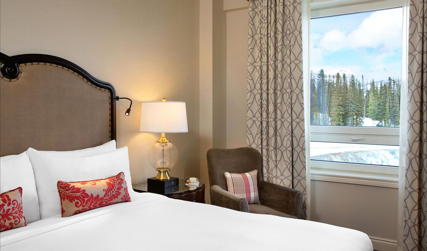 Rest up in sumptuous guestrooms