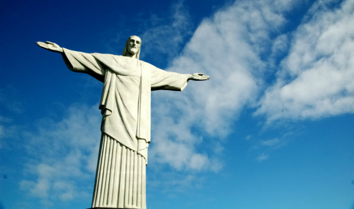 Enjoy fantastic views from christ the redeemer