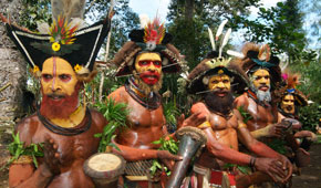 West Papua Learn Tribal Ways