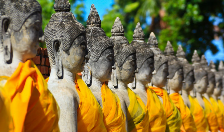 Explore Ancient Ayutthaya by bike