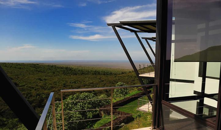 Balcony rooms at Pikaia Lodge