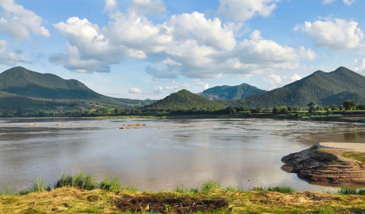 Mekong views in Eastern Thailand
