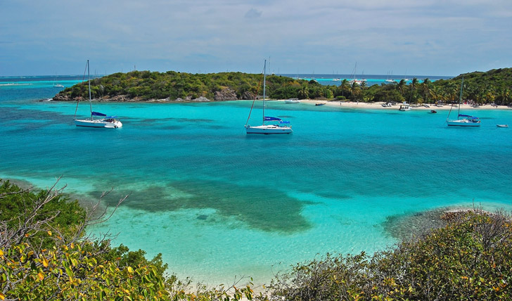 Explore the beautiful Tobago Cays