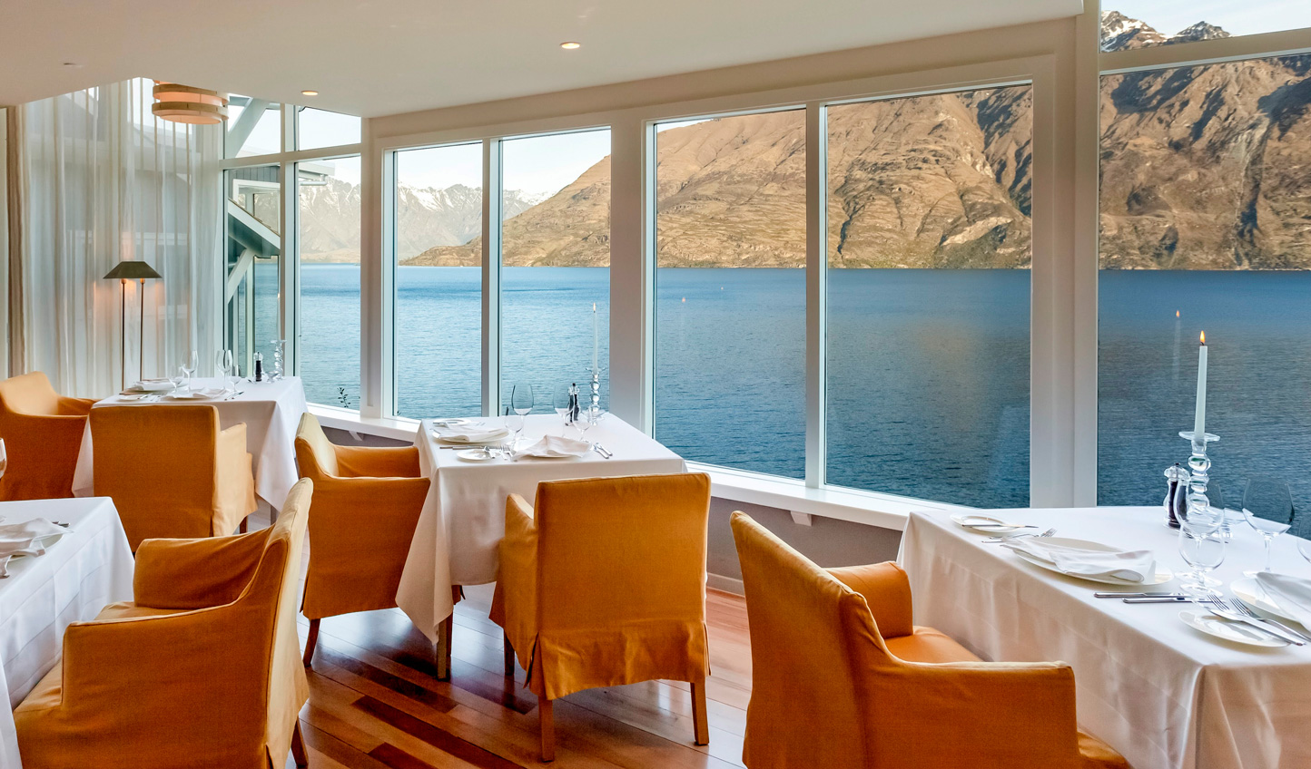Dine with one of the country's most spectacular views