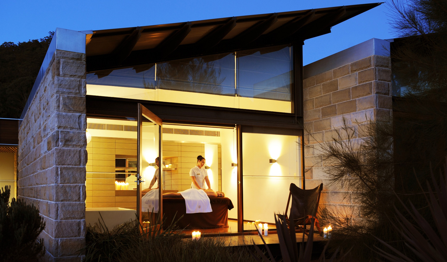 After a day exploring your surroundings, soothe your muscles in the spa