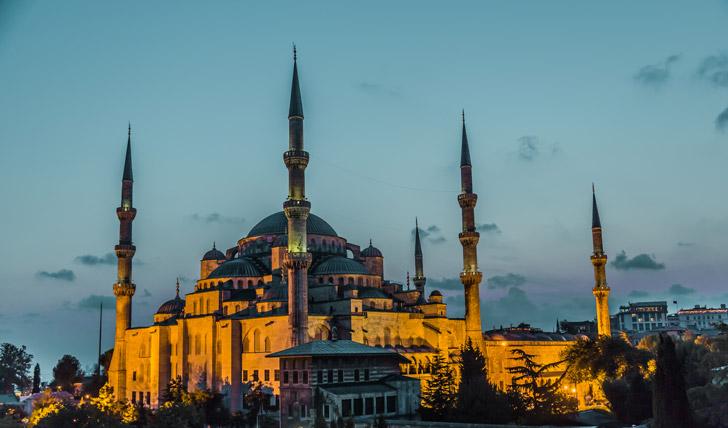 Admire Istanbul's sites