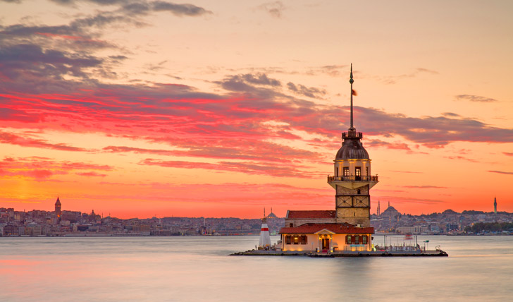On the river in Istanbul