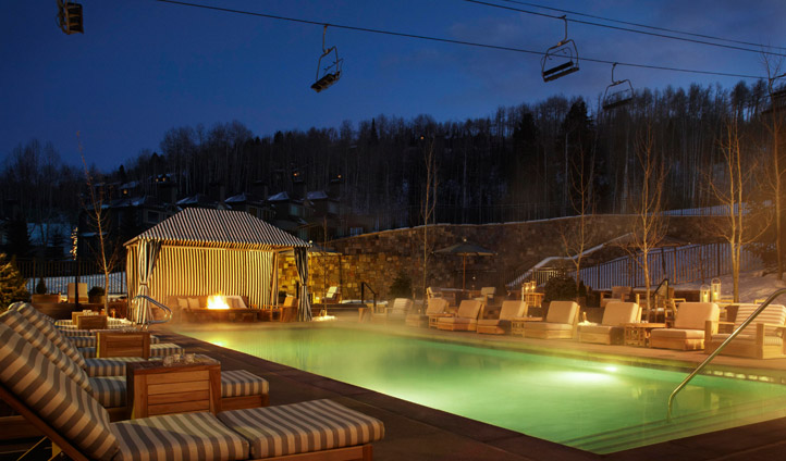 The pool at Viceroy Snowmass