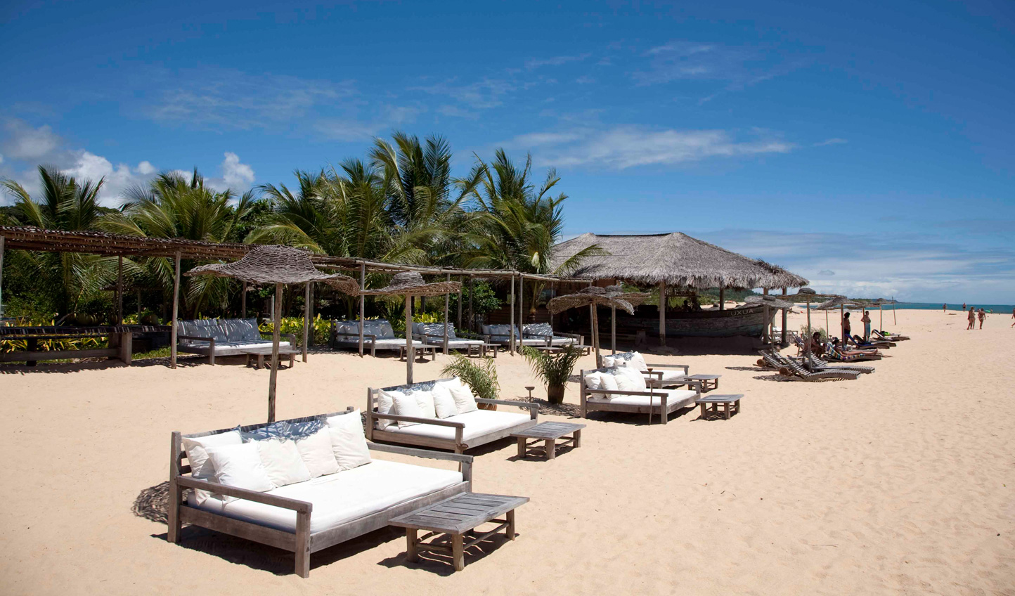 Stroll down the tranquil beaches of Trancoso