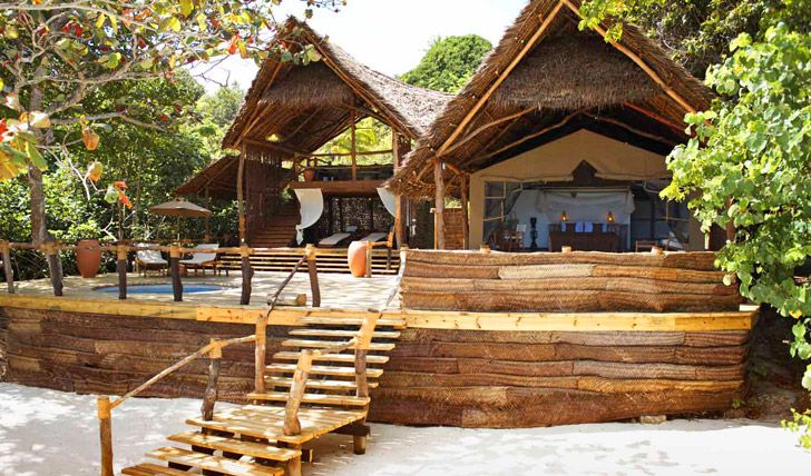 Your rustic retreat at Fundu Lagoon
