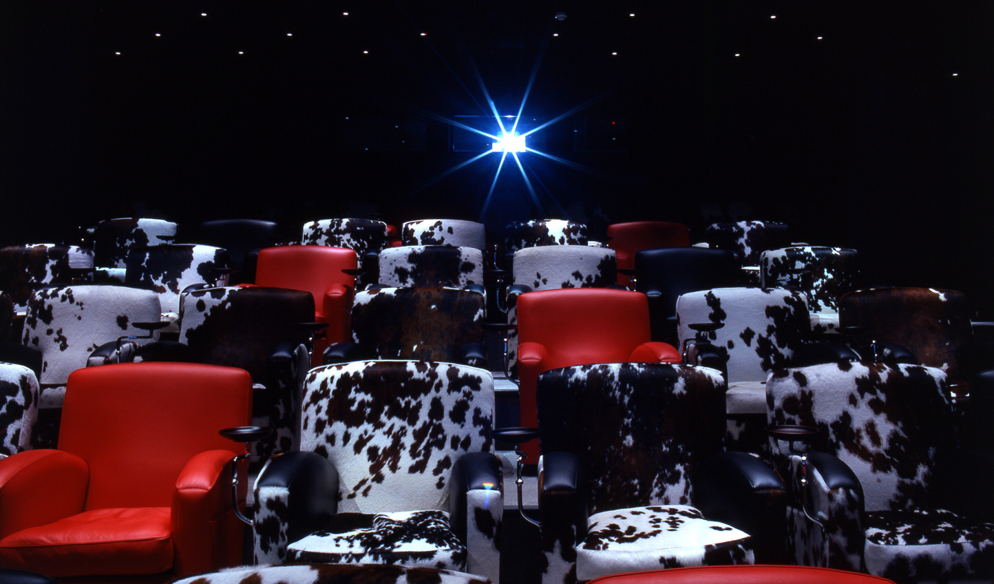 Why not catch a movie after dinner in the Screening Room?