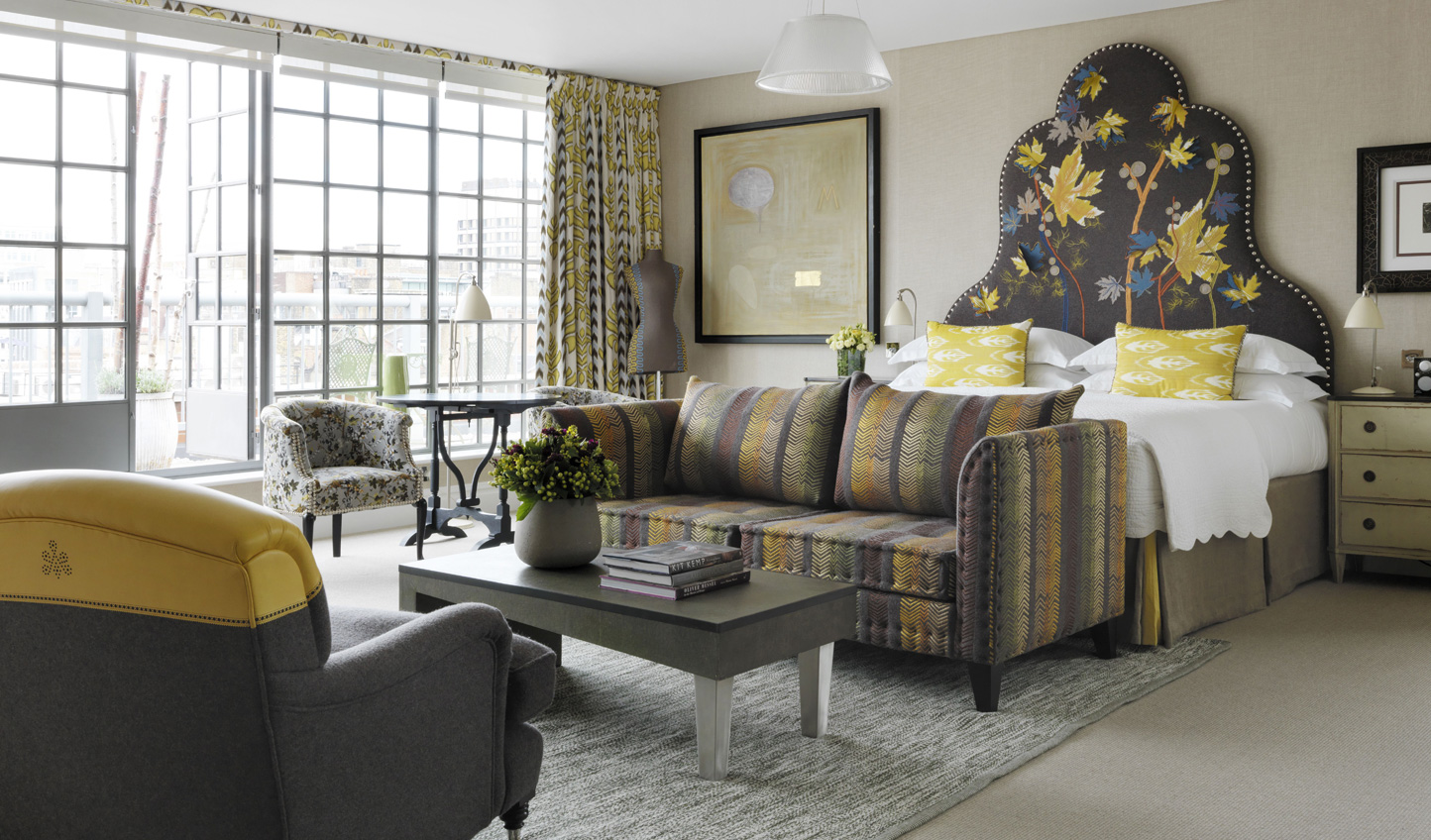 Kit Kemp has individually designed all the rooms