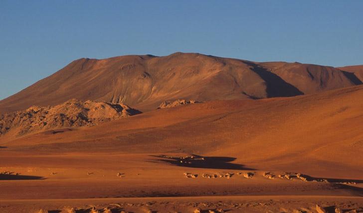Siloli desert Bolivia
