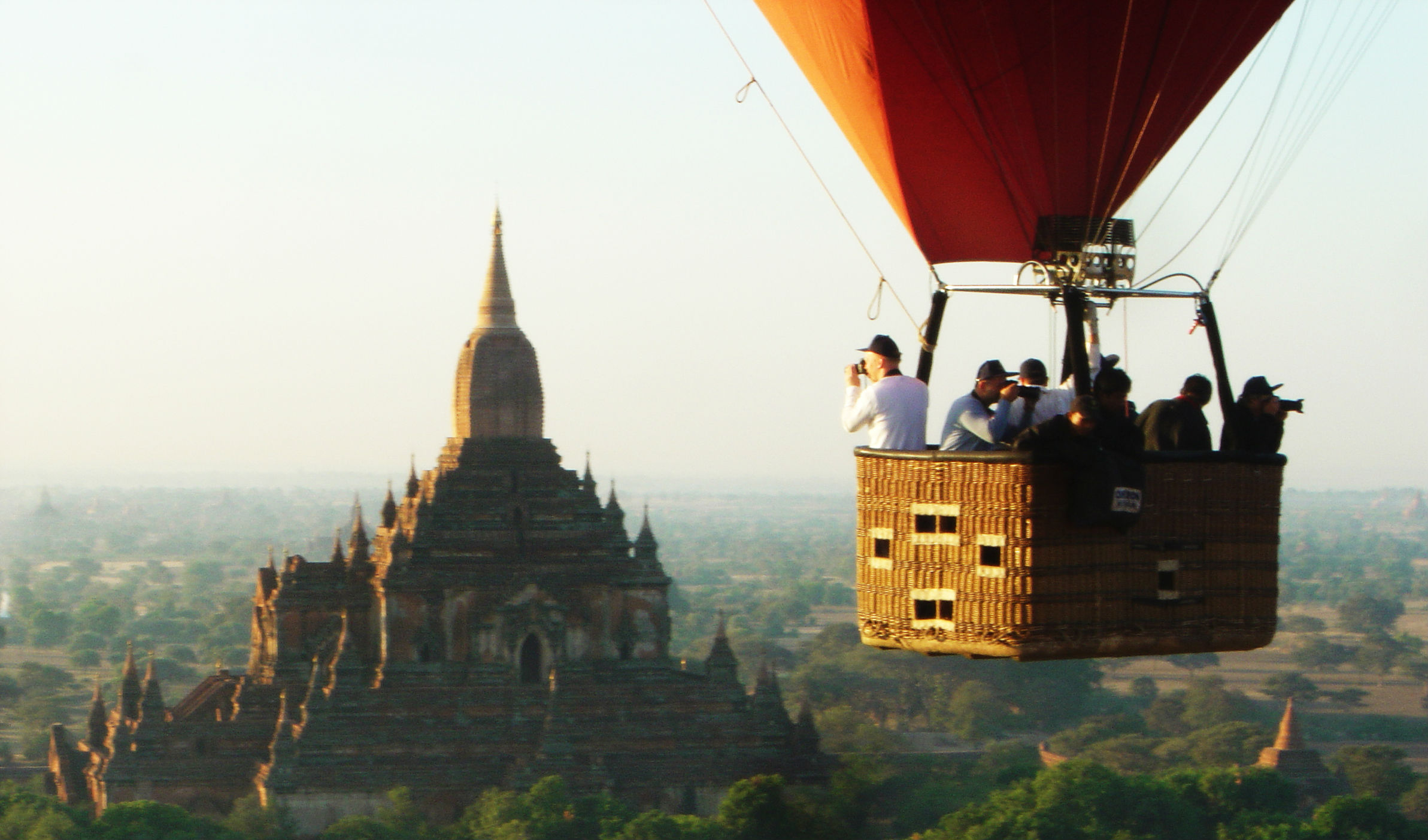 Reach new heights over Bagan