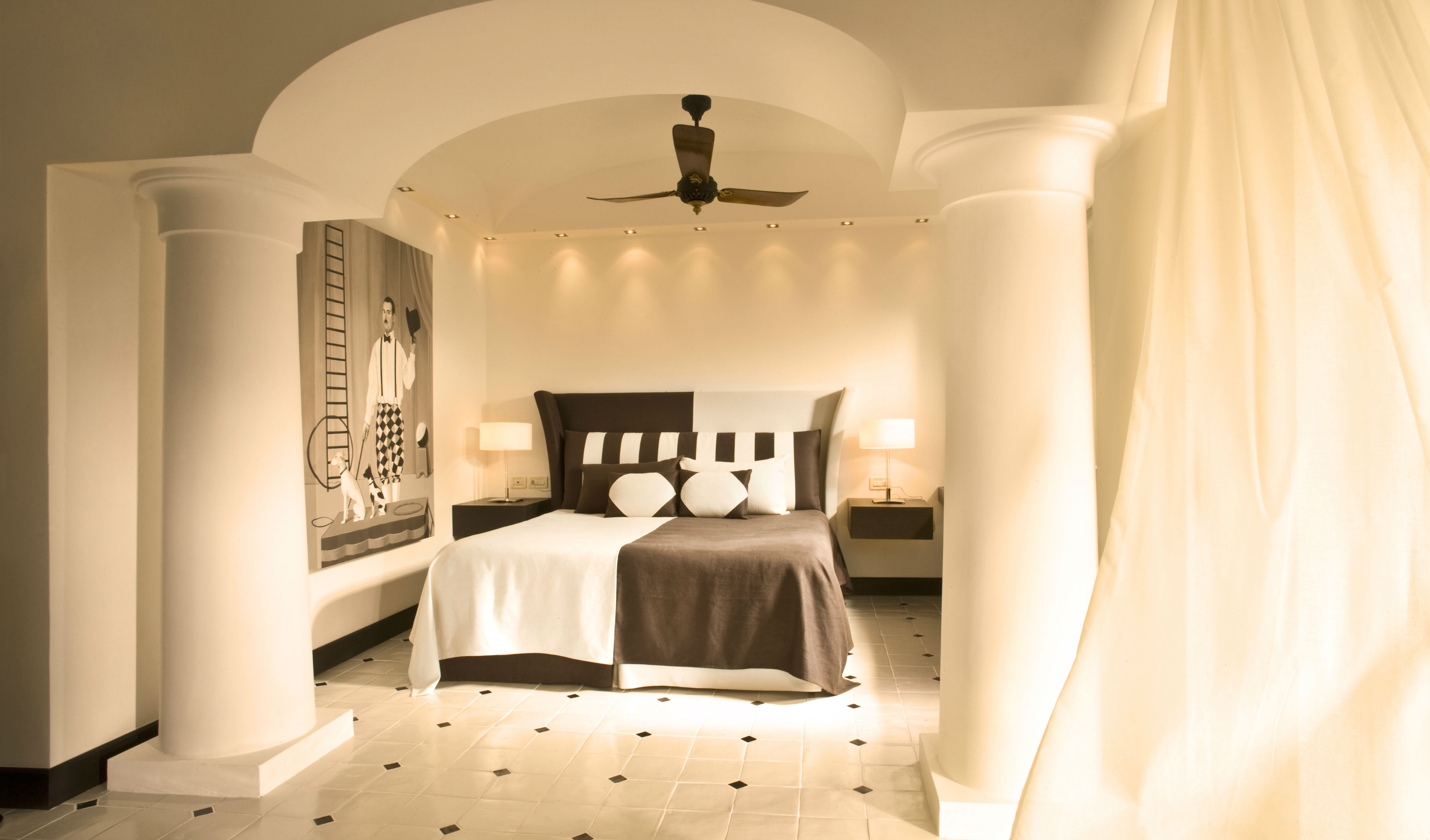 Suite at the Capri Palace in Italy