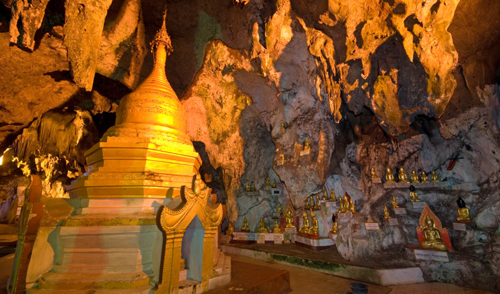 Count the Bhuddas in Pindaya Caves