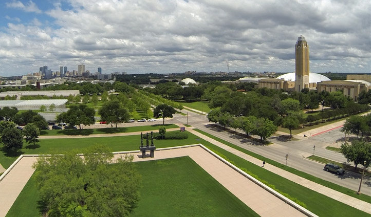 Fort Worth's Cultural District, USA