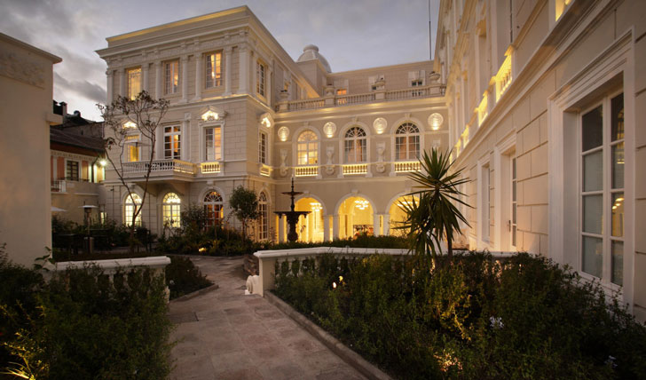 Luxury hotel in Quito