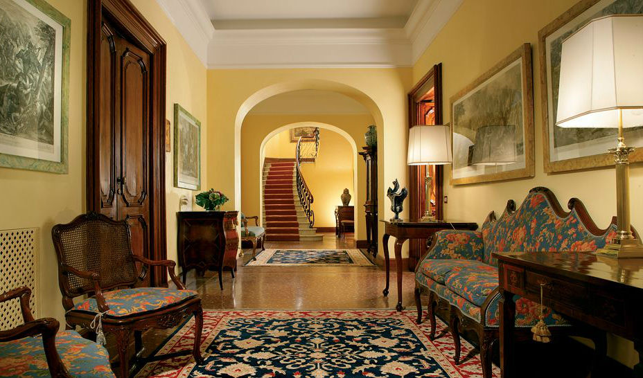 Hallway at Villa Spalletti Travelli