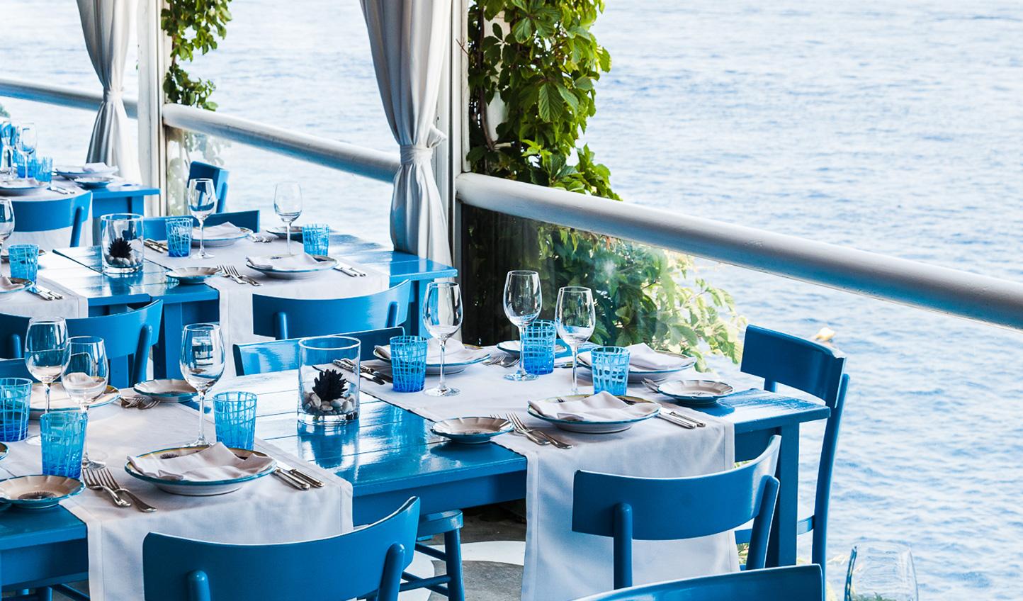 One Michelin star restaurant- Il Riccio