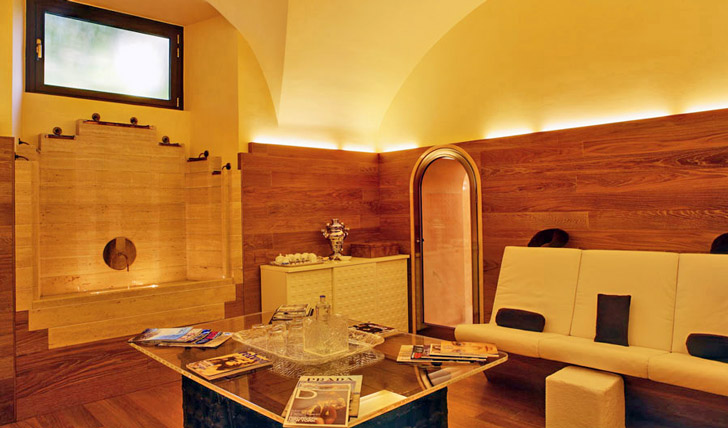 Enjoy some town time at the hotel spa