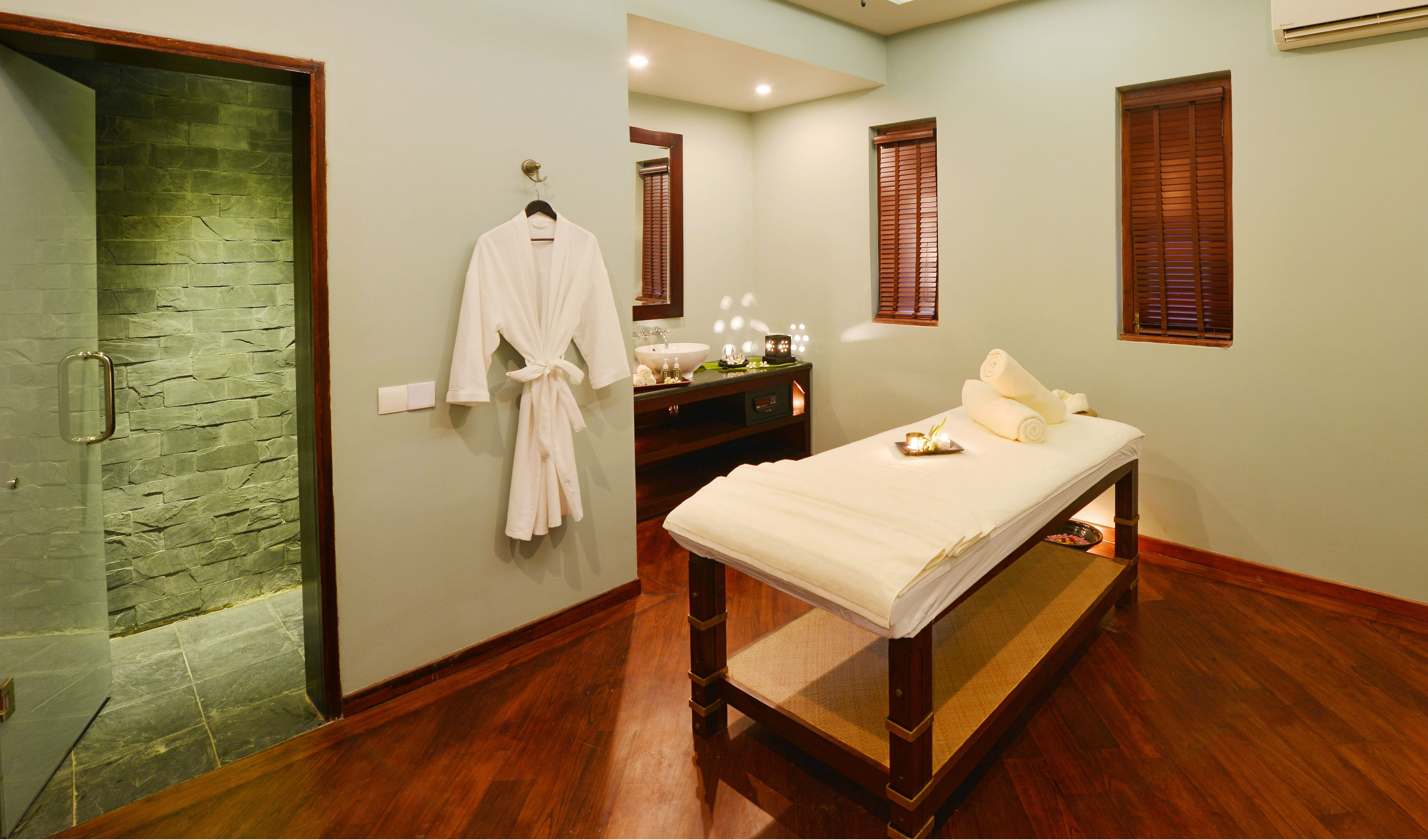 Indulge in a rejuvenating Spa treatment