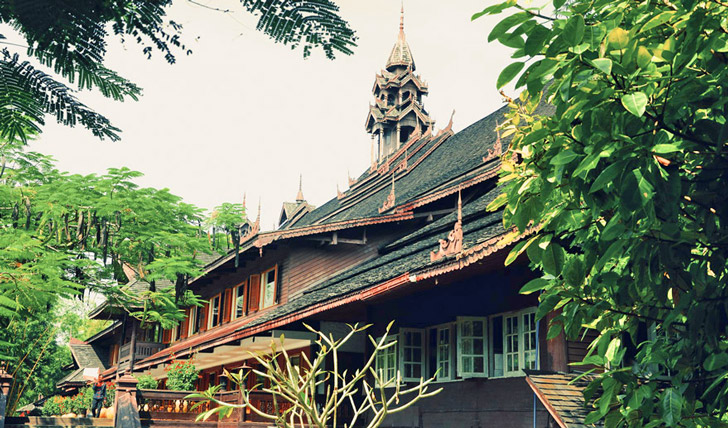 Traditional oriental architecture