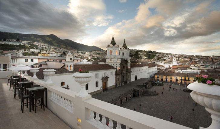 Plaza San Francisco in Quito