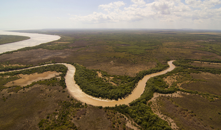 The wetlands of Australia's Northern Territory