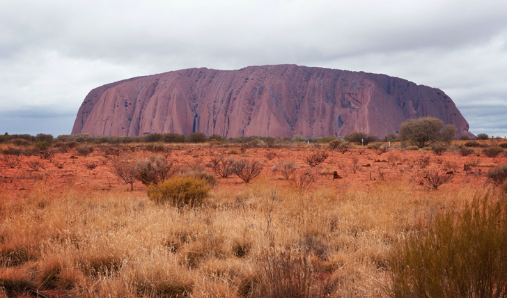 The awe-inspiring sight of Uluru