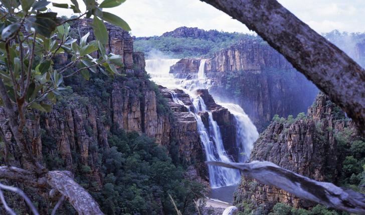 Beautiful waterfalls in the Northern Territory, Australia