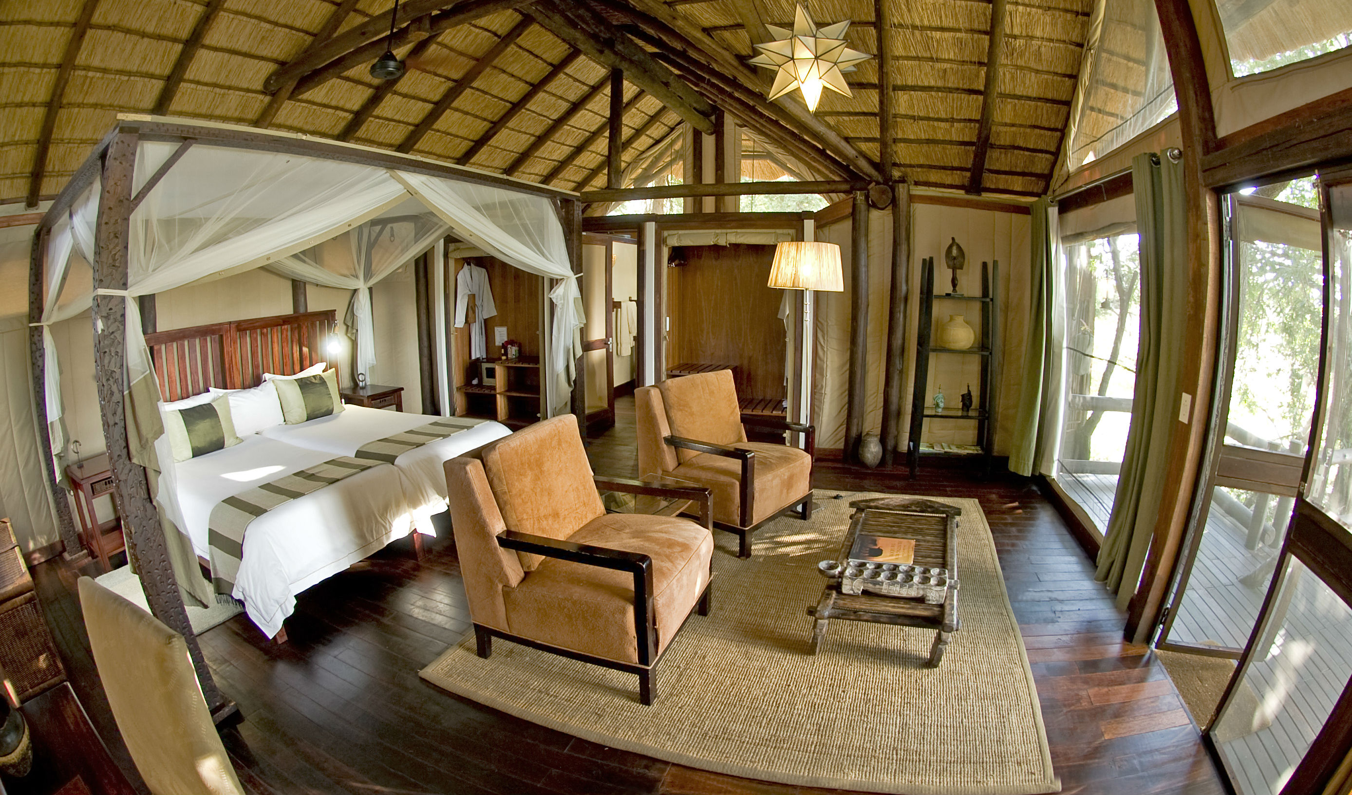 Luxury holiday in Botswana