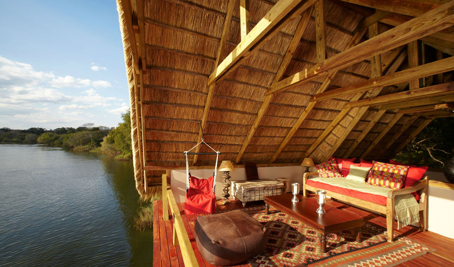 Watch the world go by at Tongabezi Lodge