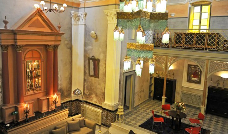 The beautiful design of Hotel L'iglesia