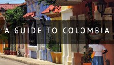 A colourful town in Colombia