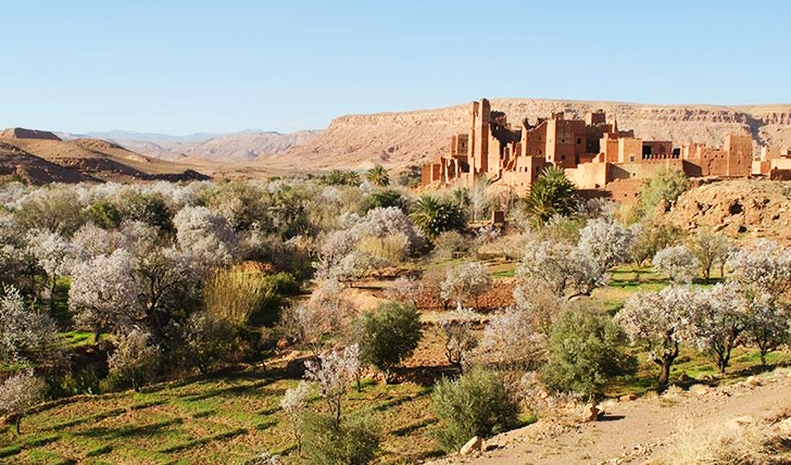 A luxury hotel in Morocco's Atlas Mountains