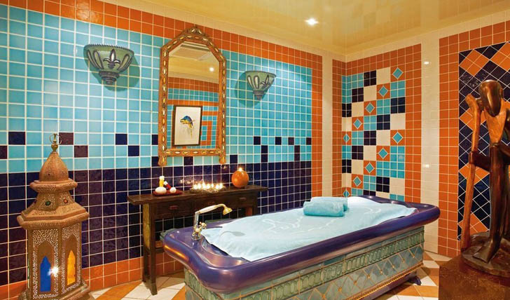 Indulge in some spa treatments